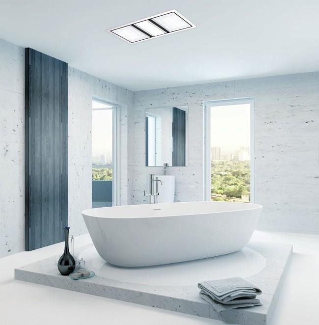Tastic Luminate Dual 3 In 1 Bathroom, Heater And Light For Bathroom